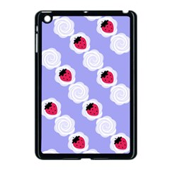 Cake Top Blueberry Apple Ipad Mini Case (black) by strawberrymilk