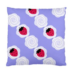 Cake Top Blueberry Cushion Case (one Side) by strawberrymilk