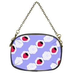 Cake Top Blueberry Chain Purse (two Sides) by strawberrymilk