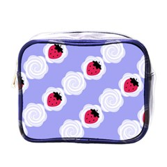 Cake Top Blueberry Mini Toiletries Bag (one Side) by strawberrymilk