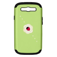 Cake Top Lime Samsung Galaxy S Iii Hardshell Case (pc+silicone)