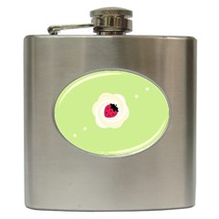 Cake Top Lime Hip Flask (6 Oz) by strawberrymilk