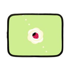 Cake Top Lime Netbook Case (small) by strawberrymilk