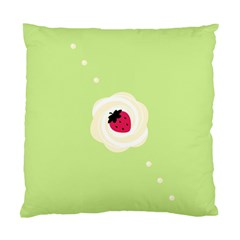 Cake Top Lime Cushion Case (one Side) by strawberrymilk