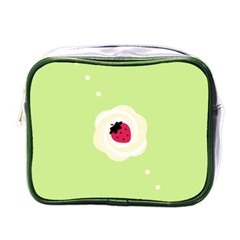 Cake Top Lime Mini Toiletries Bag (one Side) by strawberrymilk