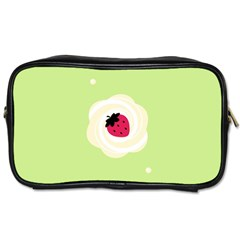 Cake Top Lime Toiletries Bag (one Side) by strawberrymilk