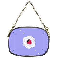 Cake Top Purple Chain Purse (one Side) by strawberrymilk