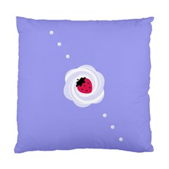 Cake Top Purple Cushion Case (two Sides) by strawberrymilk