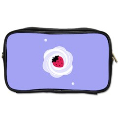 Cake Top Purple Toiletries Bag (two Sides) by strawberrymilk