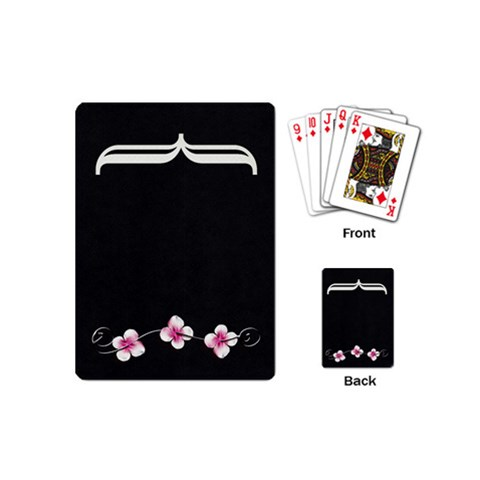 Playing Cards Mini By Deca   Playing Cards (mini)   S5wz1otd0mtz   Www Artscow Com Back