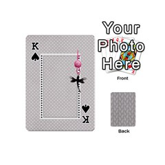 King Playing Cards Mini By Deca   Playing Cards 54 (mini)   2wbcd0d3nacg   Www Artscow Com Front - SpadeK