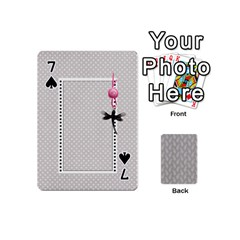 Playing Cards Mini By Deca   Playing Cards 54 (mini)   2wbcd0d3nacg   Www Artscow Com Front - Spade7