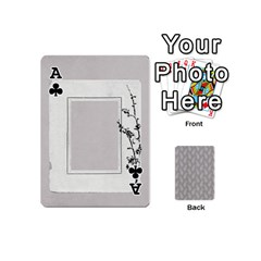 Ace Playing Cards Mini By Deca   Playing Cards 54 (mini)   2wbcd0d3nacg   Www Artscow Com Front - ClubA