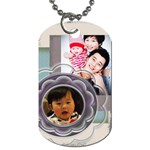 Pic Tag~~Yu - Dog Tag (One Side)