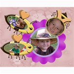 Honey Bee Collage 8x10 - Collage 8  x 10