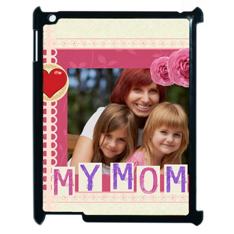 Mothers Day By Jacob   Apple Ipad 2 Case (black)   1zzqyp22of4l   Www Artscow Com Front