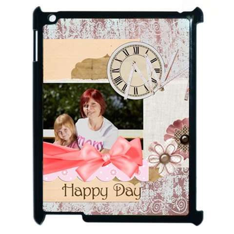 Mothers Day By Jacob   Apple Ipad 2 Case (black)   7mhjjlkbokph   Www Artscow Com Front