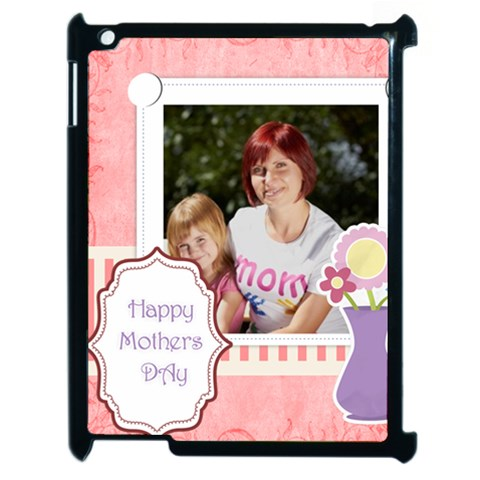 Mothers Day By Jacob   Apple Ipad 2 Case (black)   Farm9pmismho   Www Artscow Com Front
