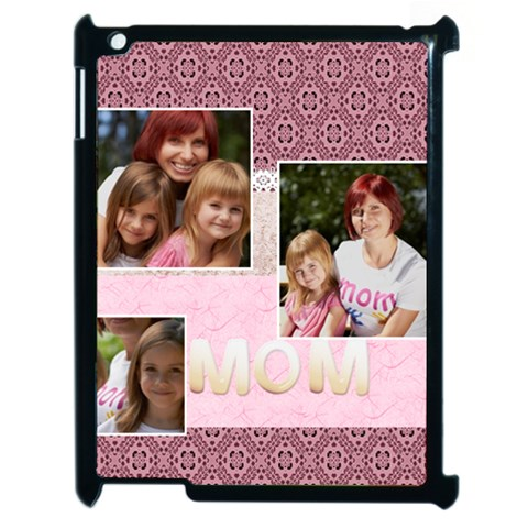 Mothers Day By Jacob   Apple Ipad 2 Case (black)   E9byrsa62dzr   Www Artscow Com Front