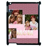 mothers day - Apple iPad 2 Case (Black)