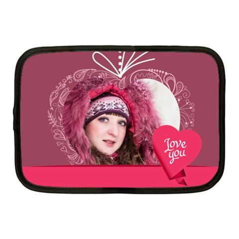 Love By Ki Ki   Netbook Case (medium)   Iy2e07insffm   Www Artscow Com Front