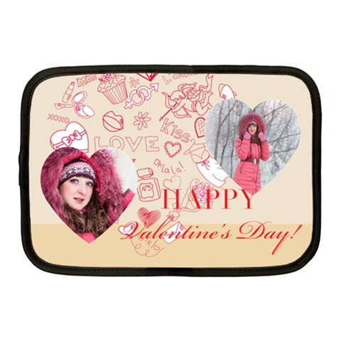 Love By Ki Ki   Netbook Case (medium)   6093pqtpamzh   Www Artscow Com Front