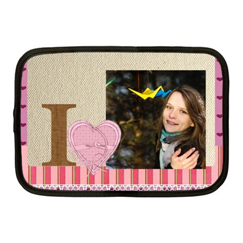 Love By Ki Ki   Netbook Case (medium)   8joipxyj917i   Www Artscow Com Front