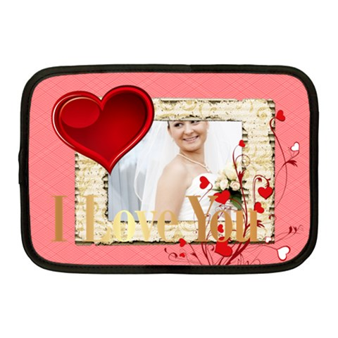 Love By Ki Ki   Netbook Case (medium)   V0sxbxe9vz9v   Www Artscow Com Front