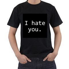 Ihy1500x1500 Black Mens'' T Shirt by theihateyoustore