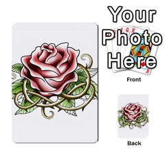 Skull&roses Card Game By Toolex   Multi Purpose Cards (rectangle)   Xvbyryfow9bg   Www Artscow Com Front 9