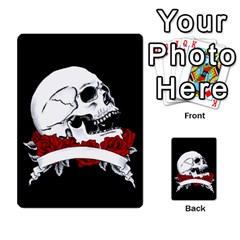 Skull&roses Card Game By Toolex   Multi Purpose Cards (rectangle)   Xvbyryfow9bg   Www Artscow Com Front 24