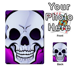 Skull&roses Card Game By Toolex   Multi Purpose Cards (rectangle)   Xvbyryfow9bg   Www Artscow Com Front 40