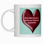 Awesome Grandma White Mug
