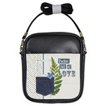 Blue Jeans  - Girls Sling Bag