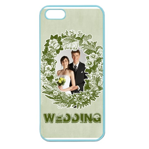 Wedding By Paula Green   Apple Seamless Iphone 5 Case (color)   Y689y2hue6lf   Www Artscow Com Front