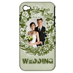 wedding - Apple iPhone 4/4S Hardshell Case (PC+Silicone)