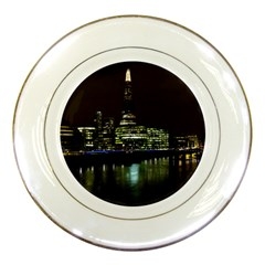 The Shard and Southbank London Porcelain Display Plate by Londonimages