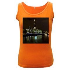 The Shard And Southbank London Dark Colored Womens'' Tank Top by Londonimages