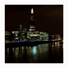 The Shard and Southbank London Single-sided Large Glasses Cleaning Cloth by Londonimages