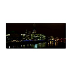 The Shard and Southbank London Hand Towel by Londonimages
