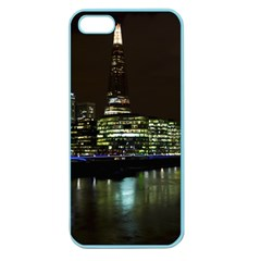 The Shard And Southbank London Apple Seamless Iphone 5 Case (color) by Londonimages