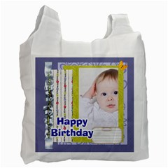 Happy Birthday By Betty   Recycle Bag (two Side)   Du9k6gyowj72   Www Artscow Com Front