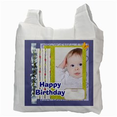 Happy Birthday By Betty   Recycle Bag (two Side)   Du9k6gyowj72   Www Artscow Com Back