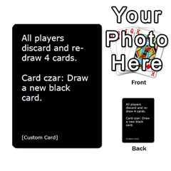 Cah1 By Justin   Multi Purpose Cards (rectangle)   D9im1owh5oo9   Www Artscow Com Front 54
