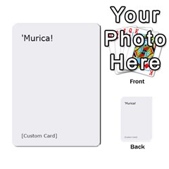 Cah1 By Justin   Multi Purpose Cards (rectangle)   D9im1owh5oo9   Www Artscow Com Front 12