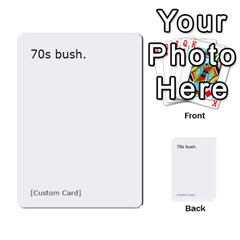 Cah1 By Justin   Multi Purpose Cards (rectangle)   D9im1owh5oo9   Www Artscow Com Front 4