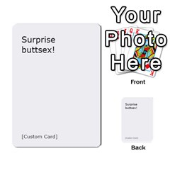 Cah1 By Justin   Multi Purpose Cards (rectangle)   D9im1owh5oo9   Www Artscow Com Front 33