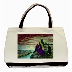 Jesus Overlooking Jerusalem By Ave Hurley  Black Tote Bag by ArtRave2