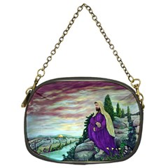 Jesus Overlooking Jerusalem By Ave Hurley  Single Sided Evening Purse by ArtRave2
