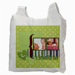 Fathers Day By Joely   Recycle Bag (two Side)   L852kmn6qwa4   Www Artscow Com Back